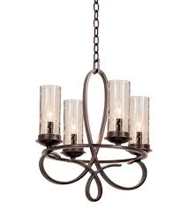 kalco 2671fc 1100 grayson 4 light 18 inch french cream chandelier ceiling light photo