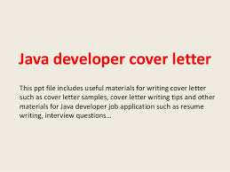 Best Ideas Of Java Developer Cover Letter 1 638 Cb With Cover