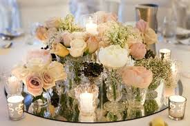 centerpieces for round tables wedding table ideas