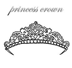 Small Picture Beautiful Princess Crown Coloring Pages 66 With Additional