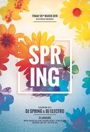 Spring Flyer Template Spring Flyer On Behance 21