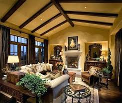 rustic family room warm cozy living ideas decorating for winter home decor on