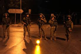 i troops search locations detain more palestinians in i iers patrol at birzeit university on the outskirts of ramallah in the west bank