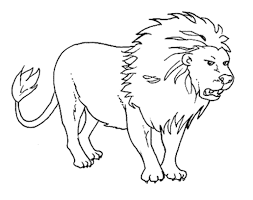 Wild drawing of animals Kids Lion Outline Az Coloring Pages Draw Doo Free Images Of Wild Animals Only Outline Download Free Clip Art