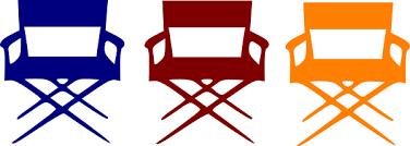 chair clipart. director chair clipart