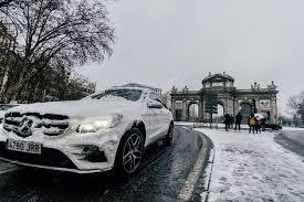 madrid spain january 2021 car and
