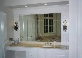 Unbelievable Beveled Bathroom Mirror Inspired On Wall Interior4you
