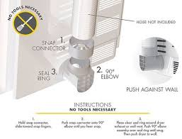 no vent dryer. Plain Vent Snap To Vent The Best Dryer Connection For Installing Your Dryer DIY  Installation Dryer Vent Hose Throughout No Vent T