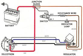 converting a generator to an internally regulated alternator Generator To Alternator Wiring Diagram the diagram below shows the original connection at the old regulator converting generator to alternator wiring diagram