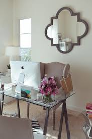 chic office space. @Sarah Westbrook I Can See You Liking This Office Space W/ The IMac, Chic