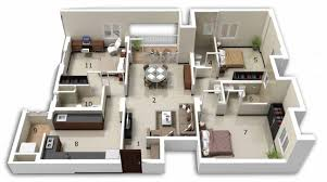 fancy three bedroom home plans 4 marvelous 3 house plan