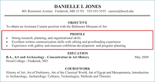 Resume Profile Summary Inspiration Resume Profile Summary Nppusaorg