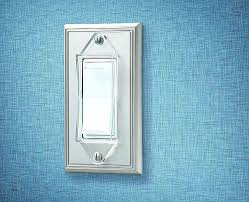wall plates unique rocker switch guard clear 2 pack model amerelle brushed nickel