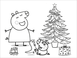 Small Picture dibujo para colorear de peppa pig Siluetas Pinterest