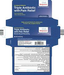 triple antibiotic with pain relief