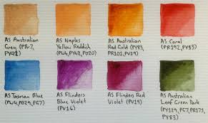 Art Spectrum Colour Chart Watercolours Art Spectrum Review Artdragon86