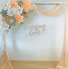 Paper Flower Backdrop Rental Paper Flowers Backdrop For Rent Design Craft Others On