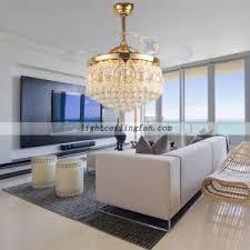 ceiling fans with lights for living room. Transparent-crystal-decorative-ceiling-fans-light Ceiling Fans With Lights For Living Room