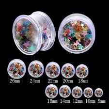 Dream Catcher Tunnels 100pcslot Acrylic tunnels Built in pentagram The dream catcher 42