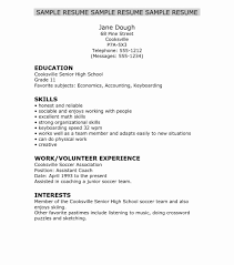 Internship Resume Samples Writing Guide Resume Genius With College