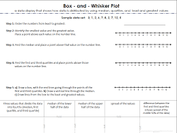 Box and whisker plot worksheets expert concept fold it up 1 ...