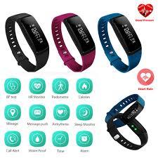 Track My Blood Pressure Smart Wristband V07 Fitness Tracker Blood Pressure Smart Bracelet
