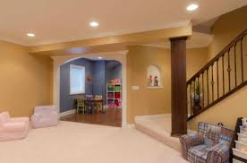 Contemporary Basement Ideas For Kids View In Gallery Intended Simple