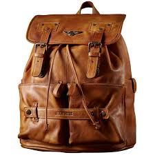 retro backpack luxury men s cow leather