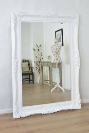 white shabby chic wall mirror shabby chic mirror frame large white antique ornate wall mirror x photos white shabby chic wall mirror uk