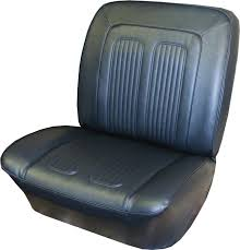 seat covers pair front buckets 1964 grand prix parisienne custom sport