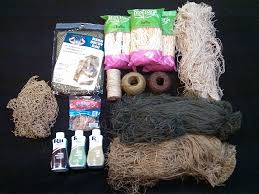 diy ghillie suit supplies