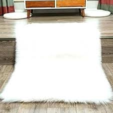 small white fur rug white fur rug small rugs faux fur rug white white faux fur