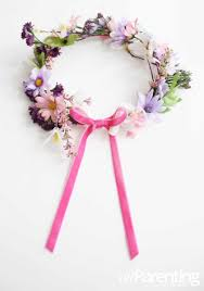 fairy flower crown via all paing silk flowers are used in this magical fairy crown which means it can be worn many times again for endless