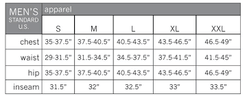 Boulder Gear Size Chart Pearl Izumi Size Chart Boulder Nordic Sport