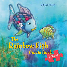 book cover image jpg the rainbow fish puzzle book