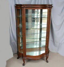 Our living room furniture category offers a great selection of curio cabinets and more. Glass Curio Cabinets Antique Furniture Ebay