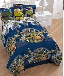Teenage Mutant Ninja Turtle Twin Bed Set 5 Piece Comforter Sheets ...