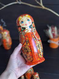 Búp bê nước Nga