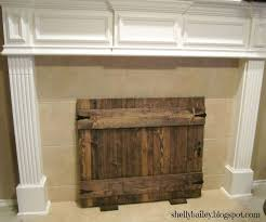 homemade faux fireplace handmade fireplace cover diy faux gate