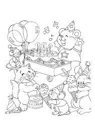 Kleurplaat Woezel En Pip Verjaardag 1 Jaar Leuk Voor Kids Woezel