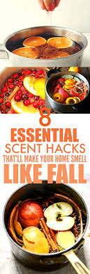 8 Borderline Genius Scent Hacks That'll Make Your Home Smell Like Fall