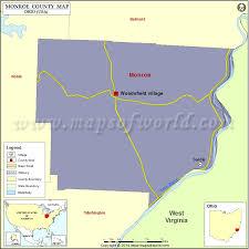 monroe county map, map of monroe county ohio Monroe County Ohio Road Map monroe county map, ohio road map of monroe county ohio