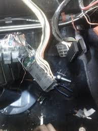 vwvortex com found some burnt wires under dash, help needed Burnt Wiring Harness thats the harness for the healight switch , found 1 wire completely burnt, no isulation left and another wire that looked like it was arcing out somewhere burnt wire harness in 2016 glc mercedes