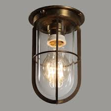 cage lighting. Incredible Antique Industrial Cast Bronze Cage Light Fixtures, Original Glass - Preservation Station, Nashville, TN Lighting