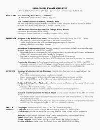 51 Luxury Yale Resume Template Social Media Resume Example Resume