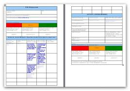 Manual Handling Risk Assessment Assessment Templates