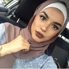 hijab makeup 1 180 likes 4 ments hijab fashion hijaashion484 on insram san hijab bine