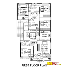 north facing house plans for 60x40 site incredible floor