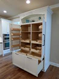 Custom Built-In Pantry with Rollout Shelves - craftsman - Kitchen - Other  Metro - Twickenham Homes & Remodeling HOUSE IDEAS t Custom Pantry, Craf