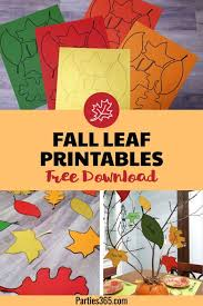 downloadable thanksgiving pictures these downloadable fall leaf printables are perfect for easy
